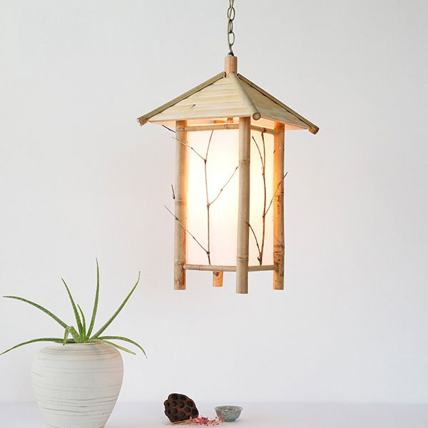 Wood Art,Bamboo Art Study Room/ Bedroom,Corridor/ Aisle/ Porch Hand-woven Japanese Chandelier,1 Lights