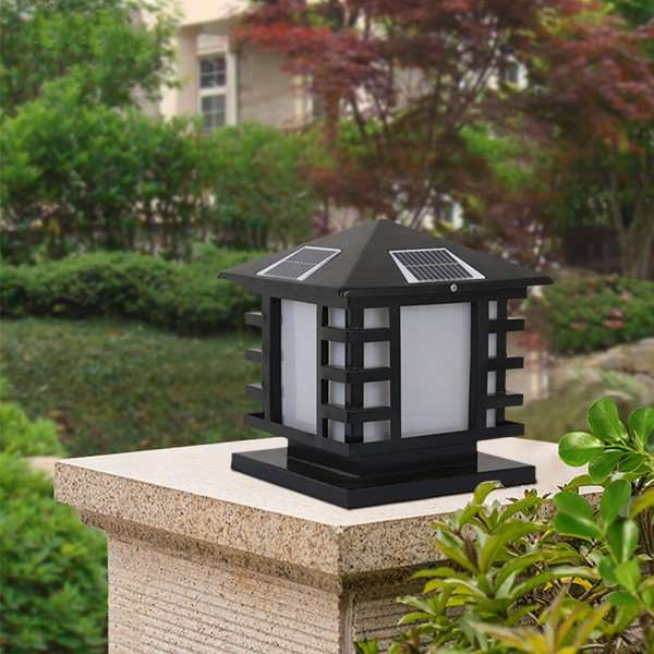 Tieyi Outdoor Spray Paint Frosted European Outdoor Lamp