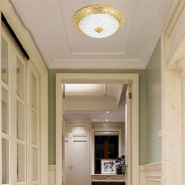 Zinc Alloy Corridor/ Aisle/ Entrance,Stairs/ Corner Electroplated European Ceiling Lamp