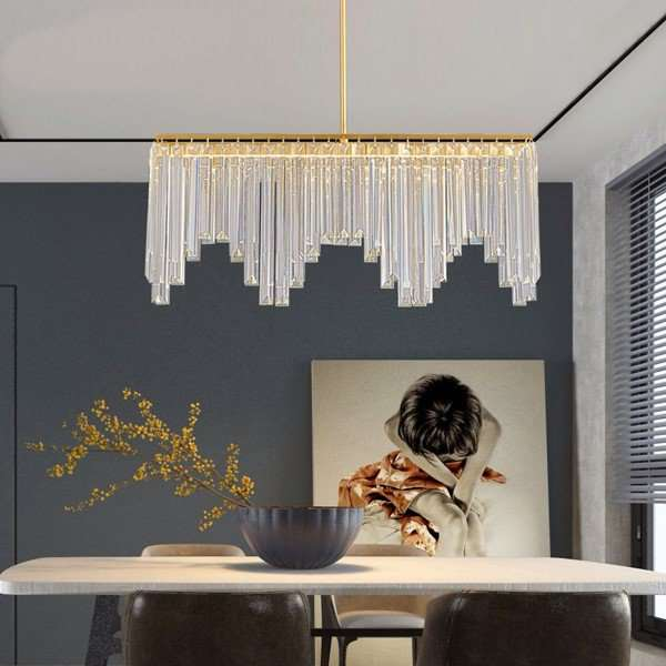 Copper,Crystal Cloakroom,Study/ Bedroom,Restaurant Dyed Light Luxury Chandelier