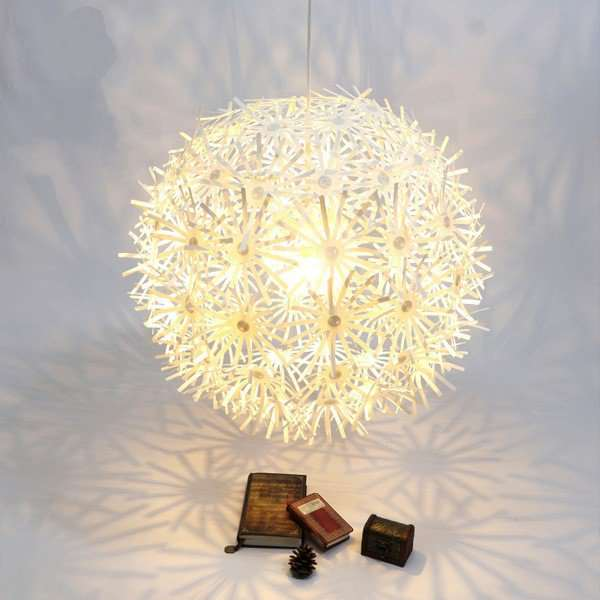 PVC,Stainless Steel,Iron Art Study Room/ Bedroom,Restaurant,Children's Room Others/other Modern Minimalist Chandelier,1 Lights