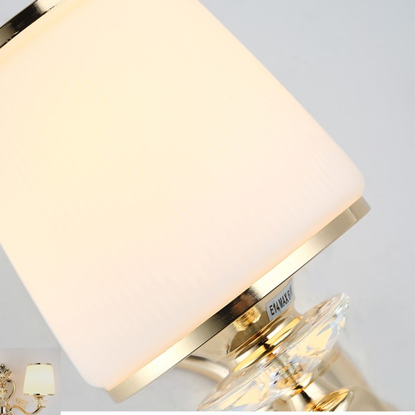 Zinc Alloy,Glass Study Room/ Bedroom,Living Room,Restaurant,Corridor/ Aisle/ Entrance,High Level/ Duplex,Stairs/ Corner,Villa/ Electroplating Modern Simple Wall Lamp In Hotel Lobby, Single Head