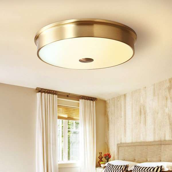 Glass,Copper Balcony,Kitchen Other/other American Simple Ceiling Lamp