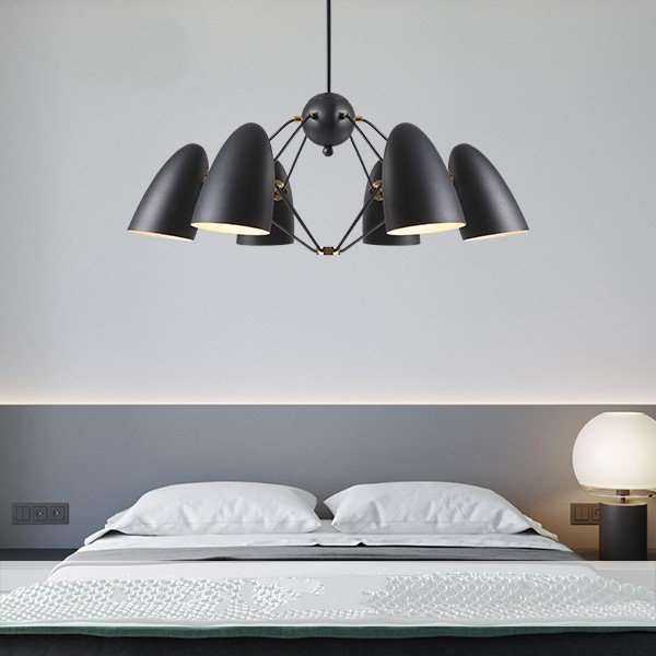Iron Art Restaurant,Study/ Bedroom,Living Room Painting And Sanding North Europe\ IKEA Chandelier,6 Lights