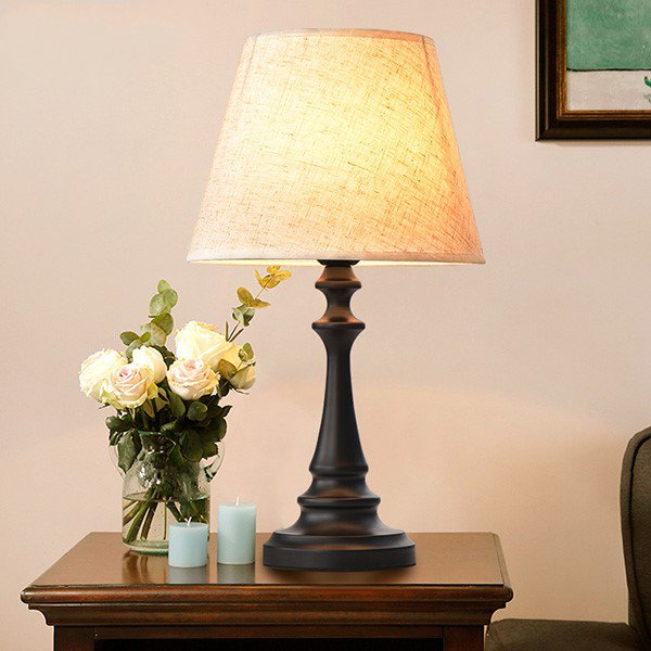 Iron Art,Cloth Children's Room,Study/ Bedroom,Living Room Spray Painting And Frosting American Simple Table Lamp