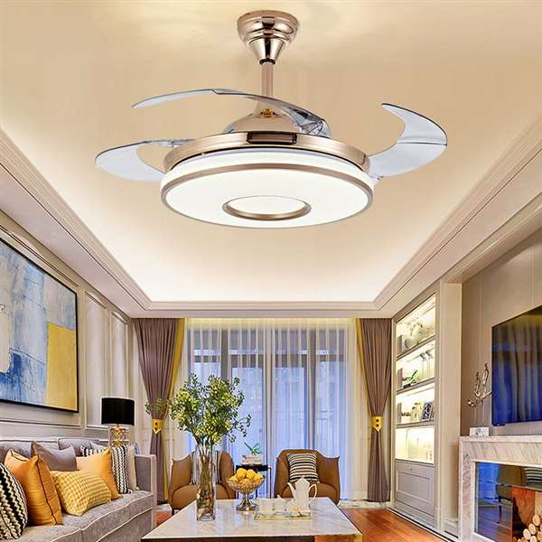 Iron Art,ABS,Acrylic Restaurant,Study/ Bedroom,Living Room American Minimalist Fan Light,1 Lights