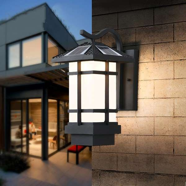 Aluminum,Acrylic Outdoor Die-casting Chinese Outdoor Light