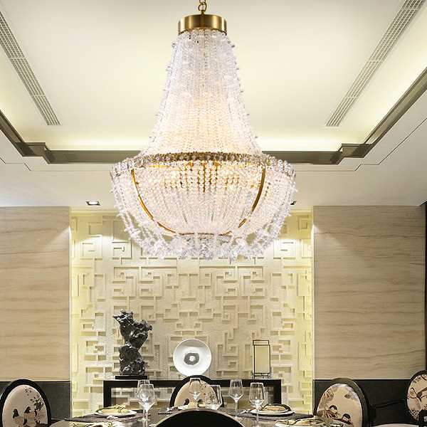 Iron Art,Glass,Crystal Restaurant,Corridor/ Aisle/ Porch Plating Modern Minimalist Chandelier,10 Lights