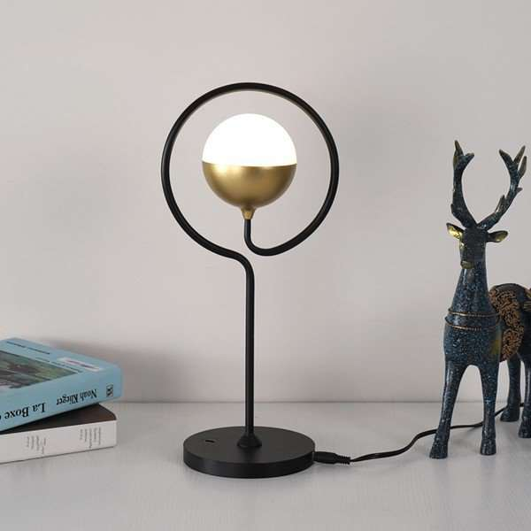 Iron Art,Acrylic,Aluminum Children's Room,Study/ Bedroom,Living Room Spray Paint Frosted Postmodern Table Lamp
