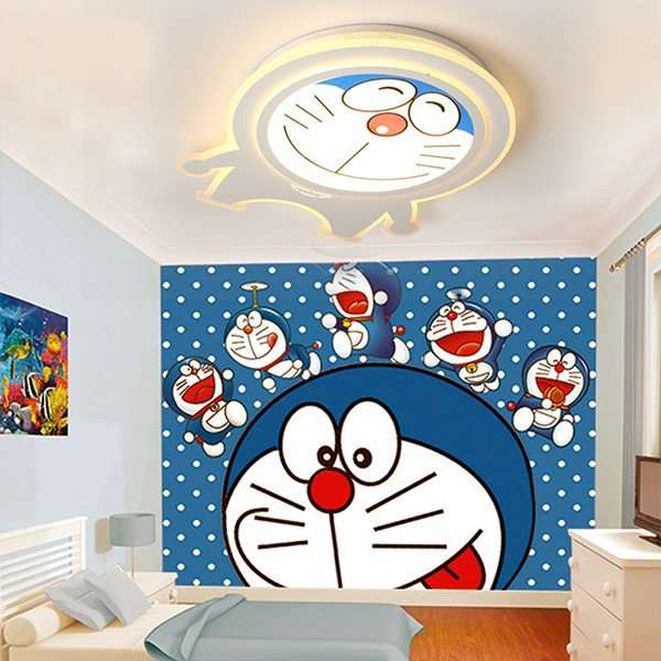 Iron Art,Acrylic Study Room/ Bedroom,Children's Room Painting And Sanding Children/ Cartoon Ceiling Lamp