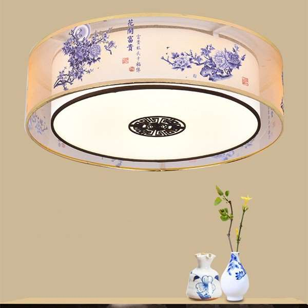 Iron Art,Cloth Art,Acrylic Living Room,Study/ Bedroom Other/other New Chinese Ceiling Lamp