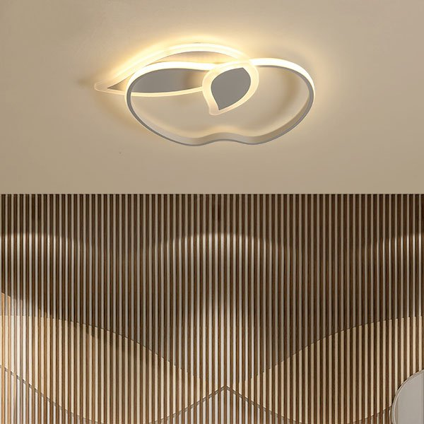 Acrylic,Aluminum,Tieyi Children's Room,Study/ Bedroom,Other Spray Painting And Frosting Modern Simple Ceiling Lamp