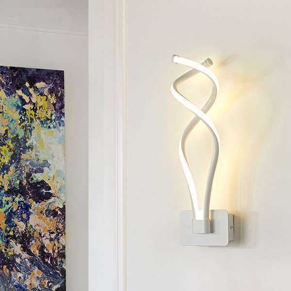 Aluminum,Acrylic Stairs/ Corner,Corridor/ Aisle/ Entrance,Living Room Hot Bend Modern Simple Wall Lamp, Double Head