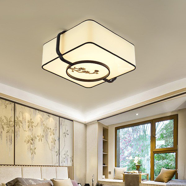 Iron Art,Cloth Art,Acrylic,Copper Study Room/ Bedroom,New Chinese Ceiling Lamp Forged In The Cloakroom