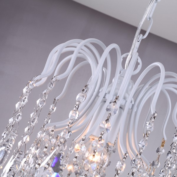 Iron Art,Crystal Corridor/ Aisle/ Entrance,Balcony Spray Paint Frosted American Country Chandelier,1 Lights