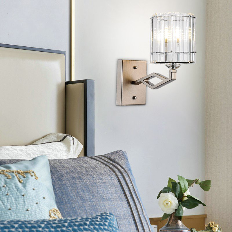 Iron Art,Crystal Villa/ The Hotel Lobby,Chess Room/ Mahjong Museum,Kitchen,Other,Cloakroom,Balcony,Corridor/ Aisle/ Entrance,High Level/ Duplex,Stairs/ Corner,Restaurant,Study/ Bedroom,Children's Room,Audio-visual Room,Living Room And Other/other Light Luxury Wall Lamp, Double Head