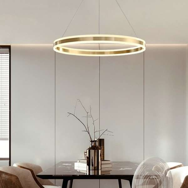 Copper,Acrylic Study Room/ Bedroom,Restaurant,Living Room Dyeing Modern Simple Chandelier,1 Lights