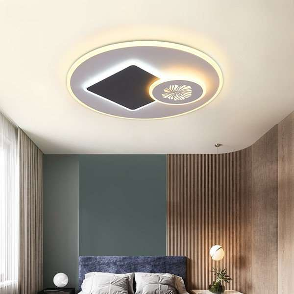 Iron Art,Acrylic Living Room,Restaurant,Study/ Bedroom Modern Minimalist Ceiling Light
