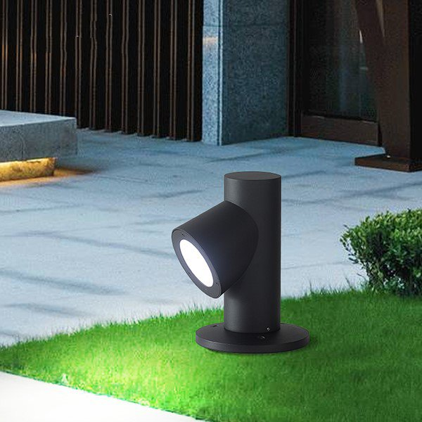 Aluminum,Acrylic Outdoor Spray Paint Matte Modern Minimalist Outdoor Light