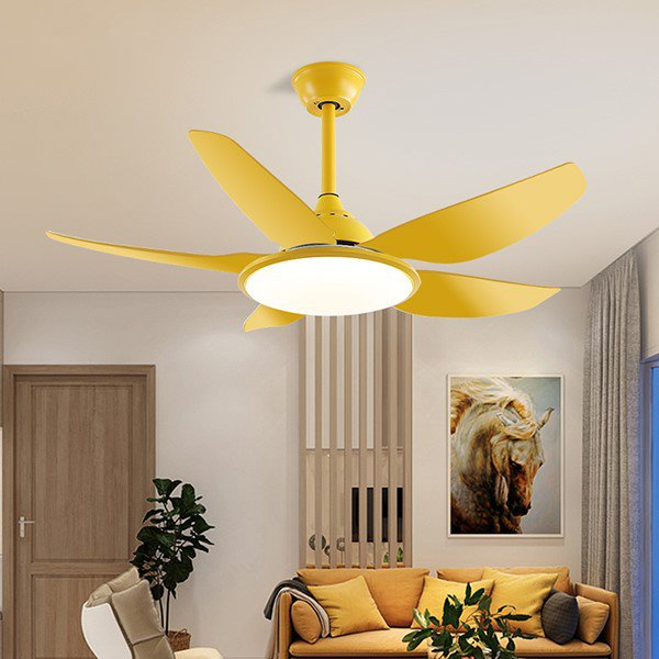 Copper,ABS,Iron Art Restaurant,Study/ Bedroom,Living Room Spray Paint Frosted Modern Simple Fan Light,1 Lights
