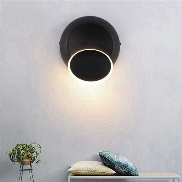 Aluminum Corridor/ Aisle/ Entrance,Restaurant,Study/ Bedroom Spray Paint Frosted Modern Minimalist Wall Lamp, Single Head