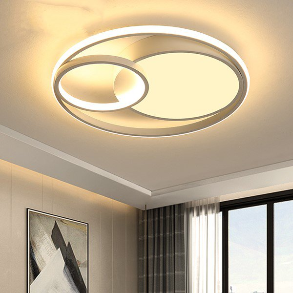 Aluminum,Iron Art Study Room/ Bedroom,Other Spray Painting And Frosting Modern Simple Ceiling Lamp