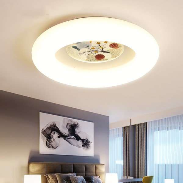 Iron Art,Acrylic Living Room,Study/ Bedroom,Restaurant Spray Matte Modern Minimalist Ceiling Lamp
