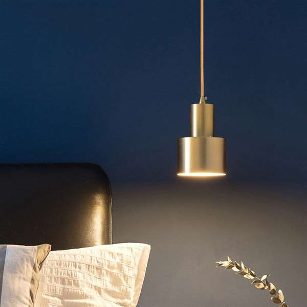 Iron Living Room,Restaurant,Stairs/ Corner Electroplated Modern Simple Chandelier,1 Lights